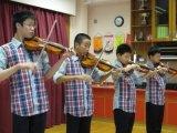 鄧浩研小提琴演出相片一