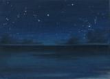 陳靜雯繪畫作品《星空》