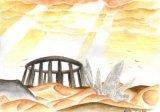 陳靜雯繪畫作品《沙漠》