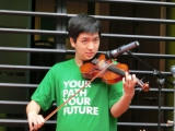 張鈺華小提琴演出相片二