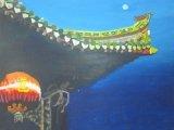 黃永康繪畫作品《道法自然》