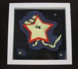 黃至威紙藝作品《星兒在星天》