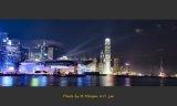 李鑒泉攝影作品《銅鑼灣黃昏》