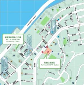 ADA總辦事處地圖