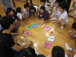 在「藝術筆友」下,香港筆友欣賞德國呂納堡 (Lüneburg)特殊學校同學作品