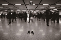 攝影作品《寂寞鞋子》