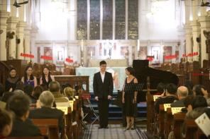 一眾英國皇家音樂學院香港校友會音樂家的演出