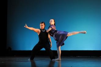 激流舞蹈劇場 (二團) 表演舞蹈