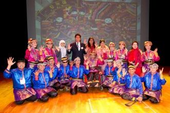表演嘉賓印尼傷健舞蹈團