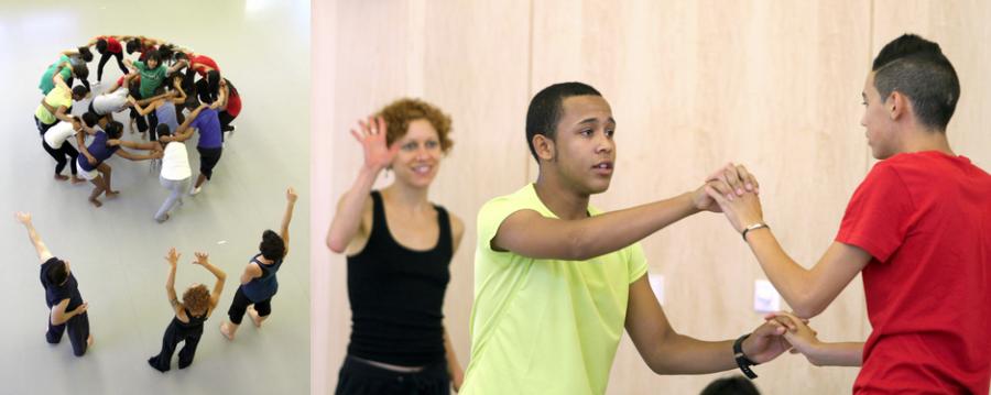 《舞蹈連繫》工作坊:一套讓不同能力人士進行創意舞蹈的方法宣傳圖片