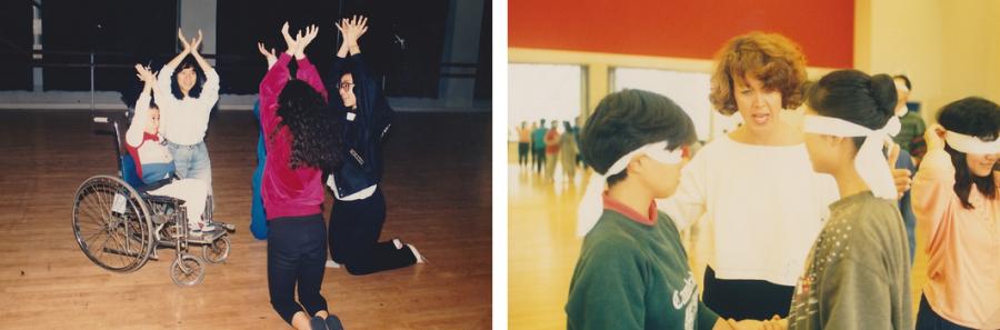 為不同能力人士開辦的舞蹈工作坊