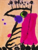廖東梅繪畫作品《卓然不群》