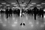 鄭啟文攝影作品《寂寞鞋子》