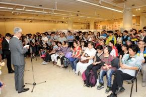 開幕暨頒獎禮當日吸引了逾三百人出席