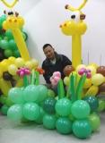 阮文偉扭氣球作品相片八
