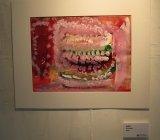 楊鎮威繪畫作品《漢堡包樂園》