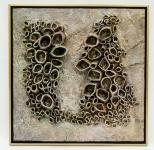 久又雕塑作品《窩居(抽象)》