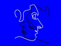 黎國威電腦繪圖設計作品《線》