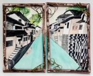 劉欣琪混合媒體作品《窗內‧窗外》
