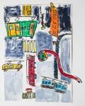 黃家麒混合媒體作品《新幹線在水管》