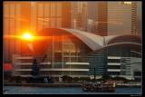 羅國華攝影作品《會展日落》