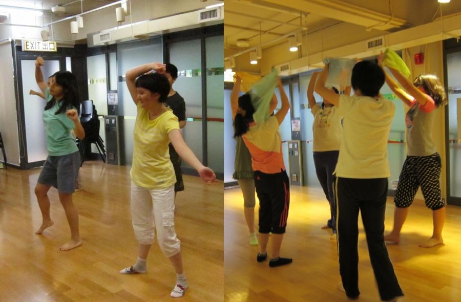 「舞蹈翩翩」舞蹈工作坊宣傳照片