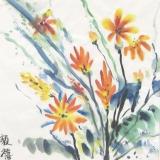 歐陽毅禧繪畫作品《花》