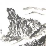歐陽毅禧繪畫作品《獅子山》