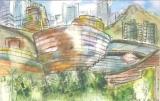 歐陽毅禧繪畫作品《數碼港寫生》
