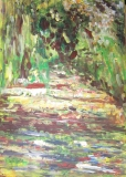 歐陽毅禧繪畫作品《迷宮》