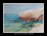 陳靜雯繪畫作品《海邊》