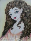 陳靜雯繪畫作品《愛爾蘭女》