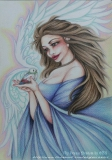 陳靜雯繪畫作品《天使之音》