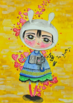 Artwork (painting) photo 10 of Apple Tong