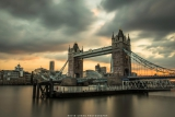 鄭啟文攝影作品《日落.倫敦》