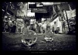 鄭啟文攝影作品《沒有時間的街》