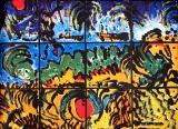 廖東梅繪畫作品《萬物》