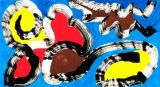 廖東梅繪畫作品《友誼之光》
