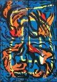 廖東梅繪畫作品《夢幻之虎》