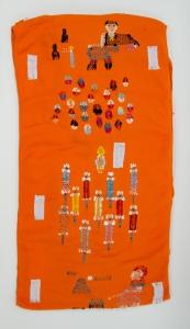 黃泳雪紗織藝術作品《月.殺毒嘉年華》