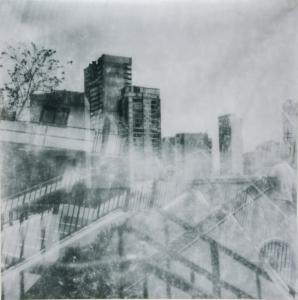 梁欣欣攝影作品《黑白中是有色的!》