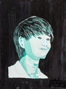 陳珮茜廣告彩紙本作品《陌生人》