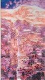 高楠繪畫作品《山中何所有 嶺上多白雲》