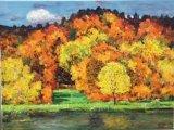 高楠繪畫作品《秋天》