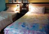 羅志琪手染作品《漂亮人生-「紅橙黃綠青藍紫」》