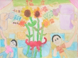 陳顯卓繪畫作品《花店》