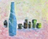 黎惠珍繪畫作品《風呀!請吹走我的影子!》
