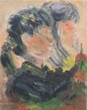 黎惠珍繪畫作品《練習-學生》
