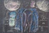 黎惠珍繪畫作品《練習-無題 》