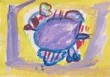 楊鎮威繪畫作品《鴨仔天空》
